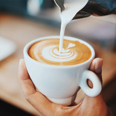 Elevate The Sweet Spot Cafe Latte