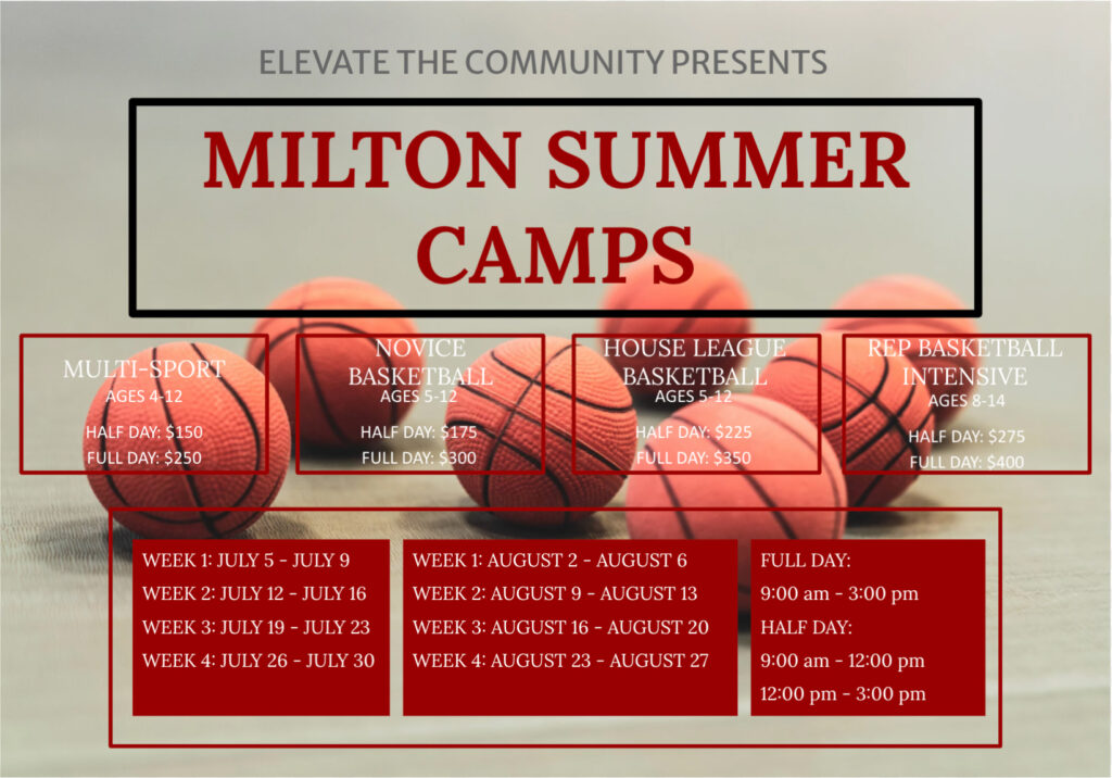 Elevate Basketball Camps - 2021