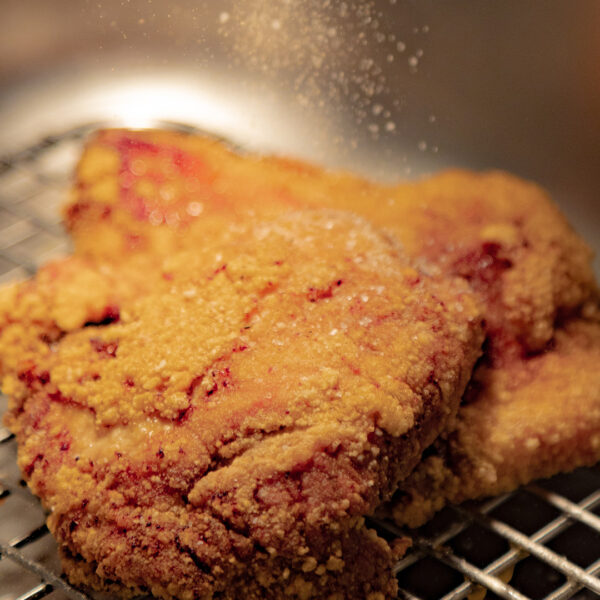 "Buffalo Chicken ""Crunch"" Sandwich"
